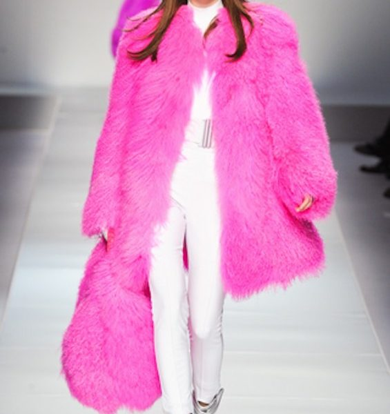 Blumarine Electrifies the Runway – A/W 2012