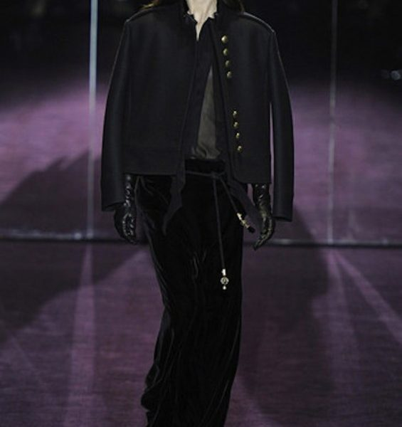 Dark Glamour at Gucci A/W 2012