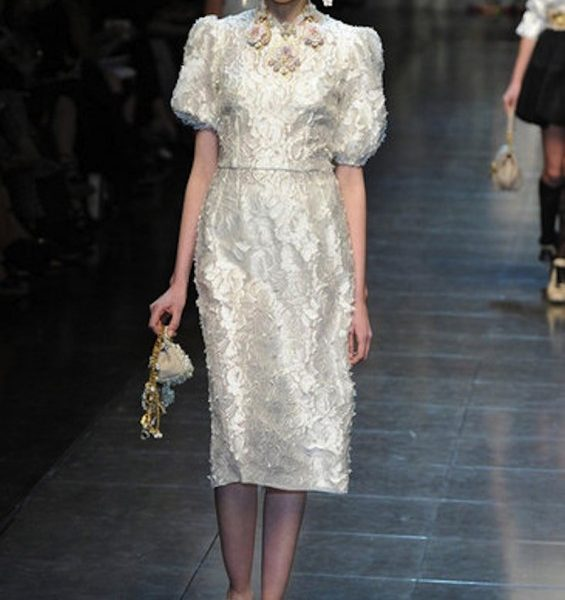 Dolce and Gabbana A/W 2012