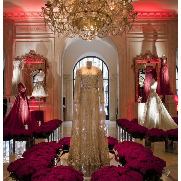 Elie Saab's Royal Affair At Hotel George V