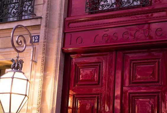 La-Reserve-Paris-Hotel-entree 1
