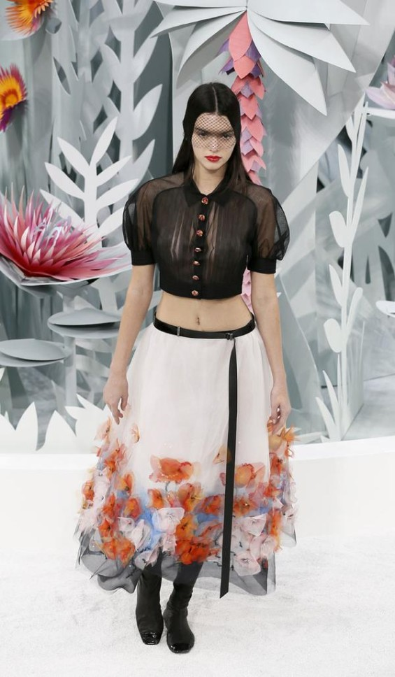 Kendall Jenner Chanel SS2015